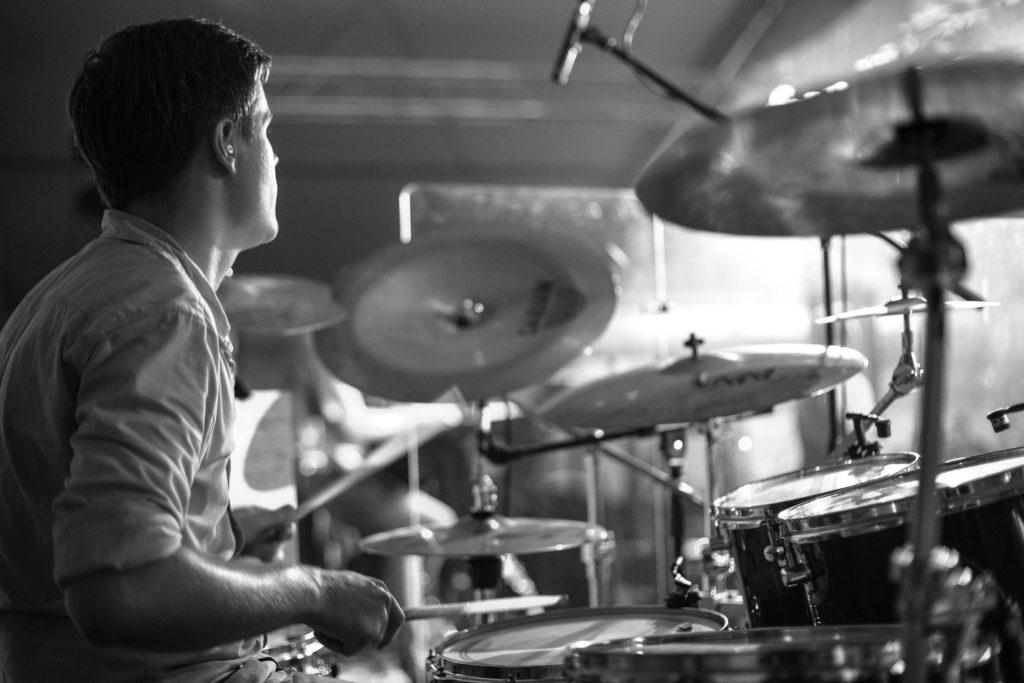 ドラムでダンス部